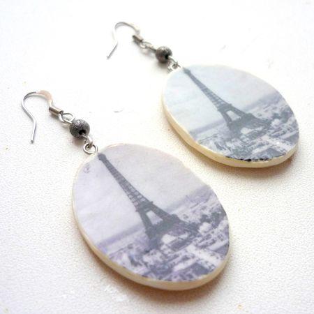 Серьги «Париж»