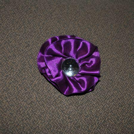 Брошь «Фиолетовая волна»
